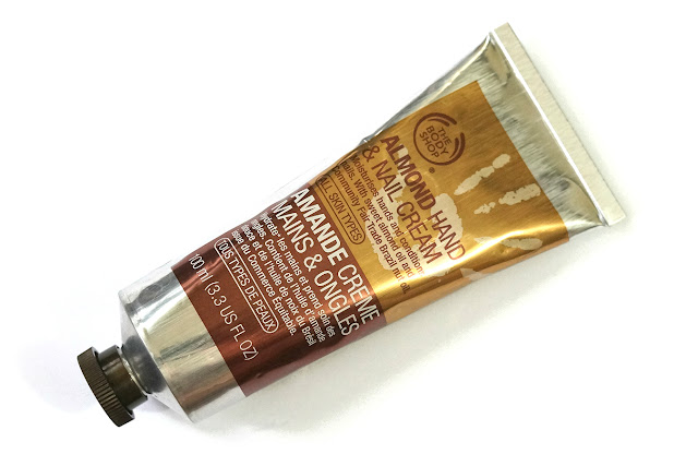 The Body Shop Almond Hand and Nail Cream Review