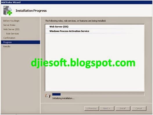 Cara Install IIS 7 di Windows Server 2008/R2