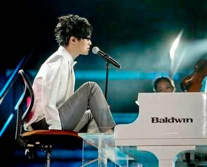 Liu Wei pianis tanpa tangan
