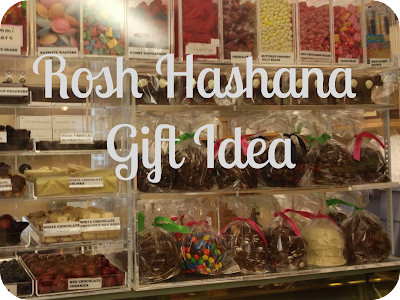 rosh hashana candy apple gift idea