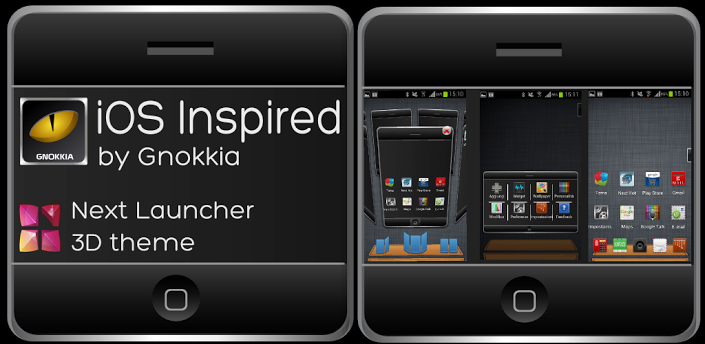 ios launcher wallpaper: Next Launcher IOS Inspired V1.1 Apk Download