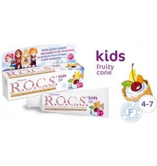 R.O.C.S Kids (3-7 Yaş) Çocuklar İçin Diş Macunu