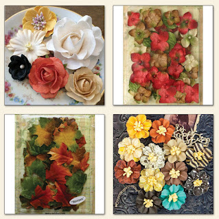 Amy's Amazing Autumn Kit Floral Add On