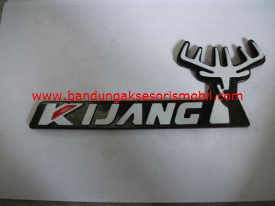 Emblem tulisan kijang grand + kepala rusa u/ bagasi