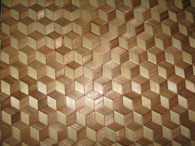 Wall Covering Materials : Quality bamboo and asian thatch wall covering ceiling