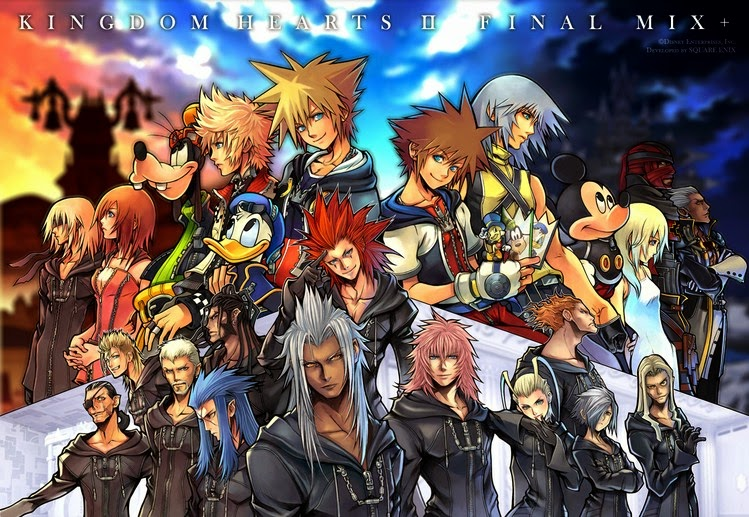 Kingdom Hearts II - Final Mix+ Ps2 Iso