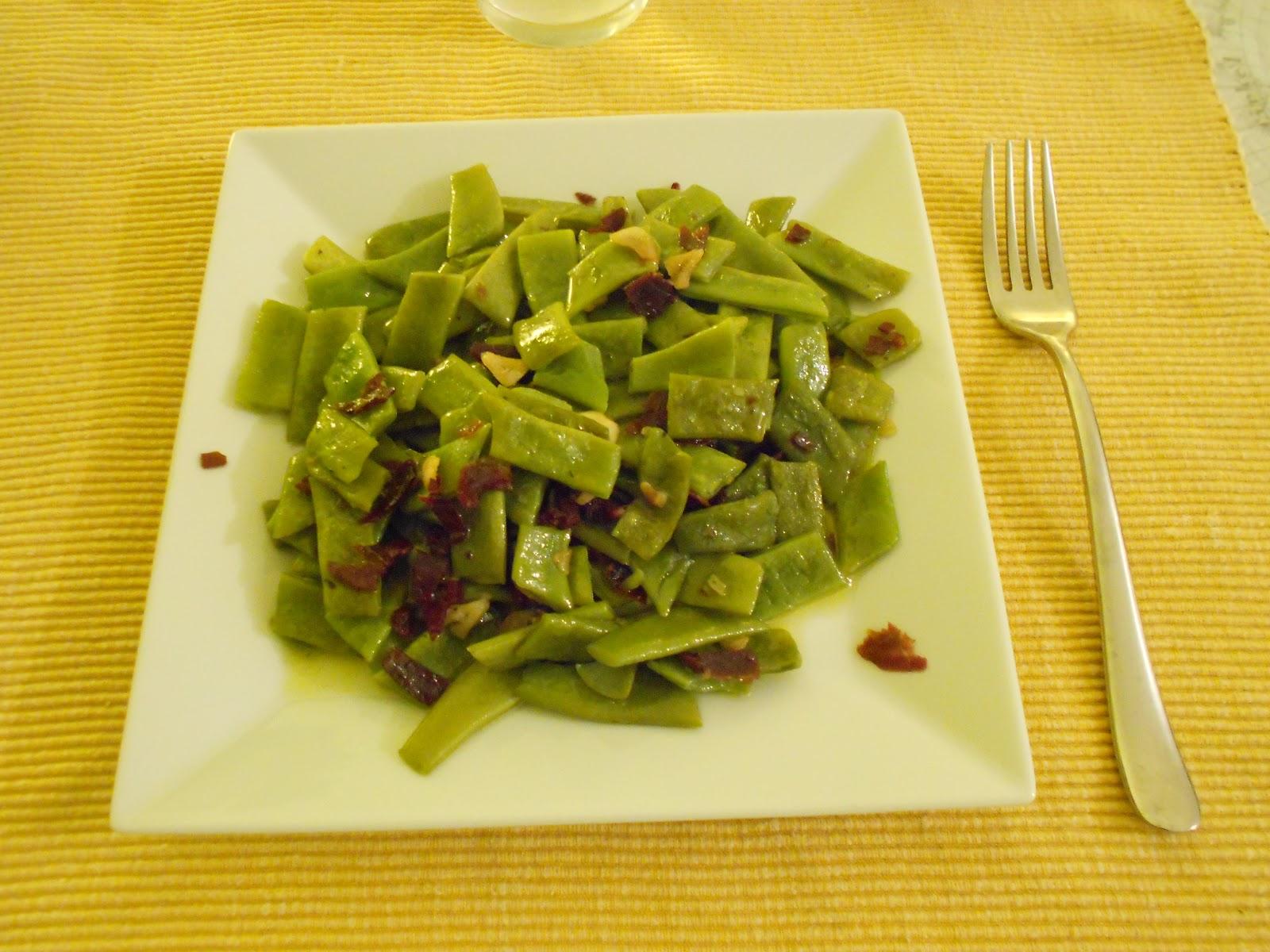 Ro cocina jud as verdes salteadas con jam n - Como hacer judias verdes ...