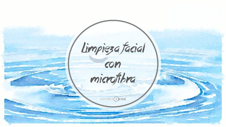 Limpieza facial con Microfibra