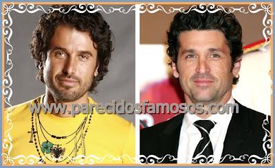Eriberto Leão y Patrick Dempsey