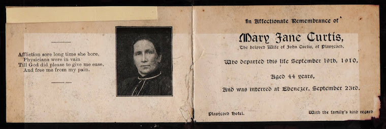 In Memory Card - September 19th 1910