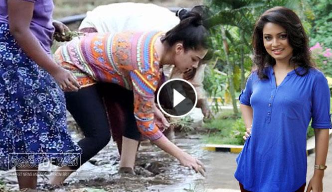 Pooja Umashanker goes B Onions planting