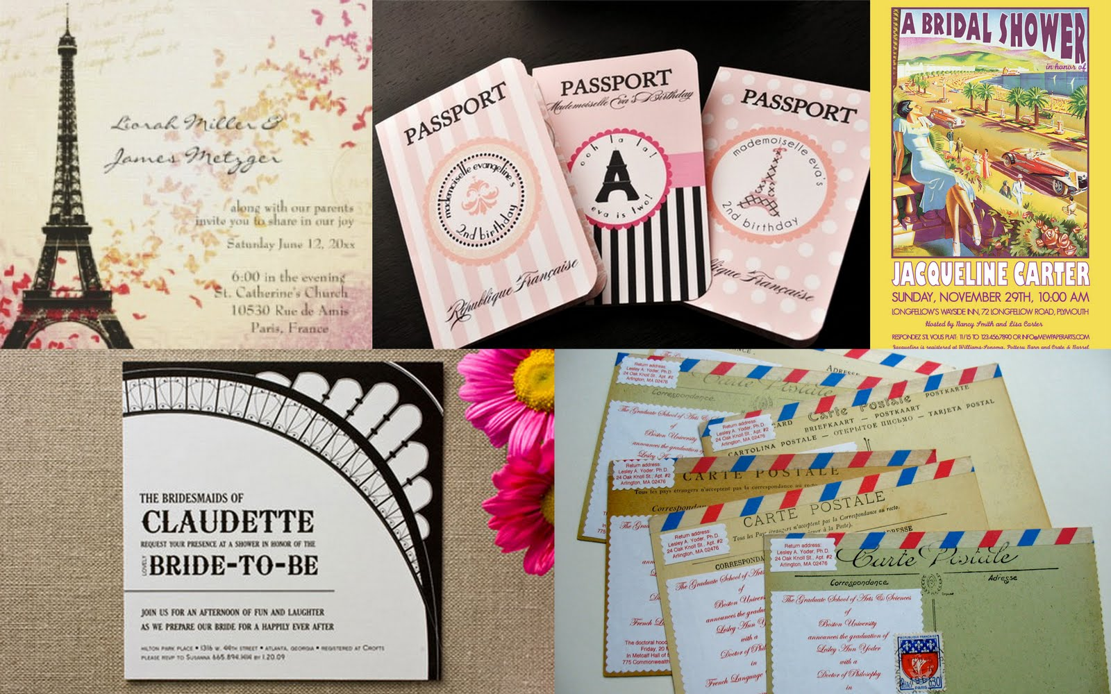 Paper doll romance bridal shower theme a day in paris bridal shower theme a day in paris filmwisefo Choice Image