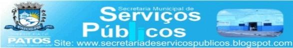 Secretaria de Serviços Publicos de Patos - PB