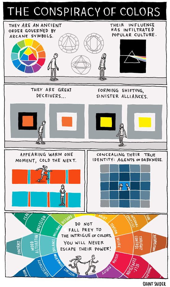Character Design Color Theory : Design grant snider illustration