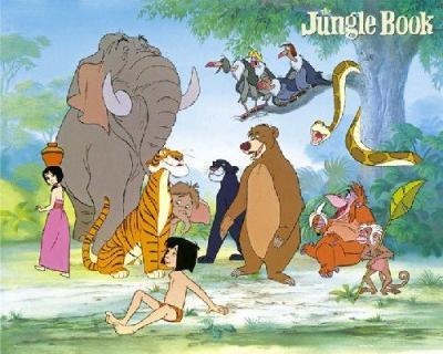 Walt Disneys Djungelbok.