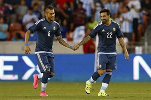 amistoso en houston - argentina 7 bolivoa 0