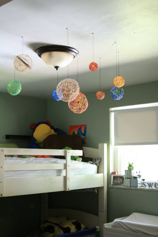 Comhanging Solar System For Kids Room : Art For Little Hands: Embroidery Solar System