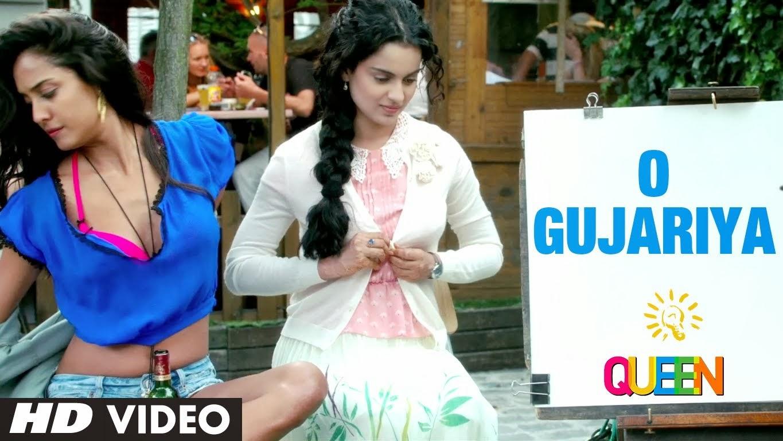 O Gujariya - Queen (2014) HD Video Watch Online
