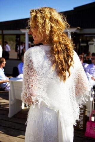 TE KOOP: diverse vierkante bruidssjaals