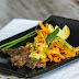 Roasted Sweet Potato Fries with Steak