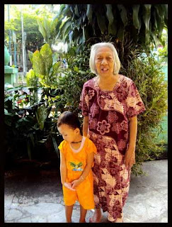 Grandma and the housemaid's child