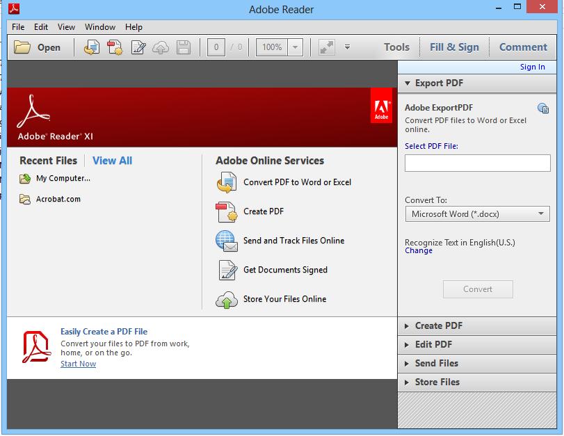 Adobe Reader 11.0.10 Terbaru screenshot