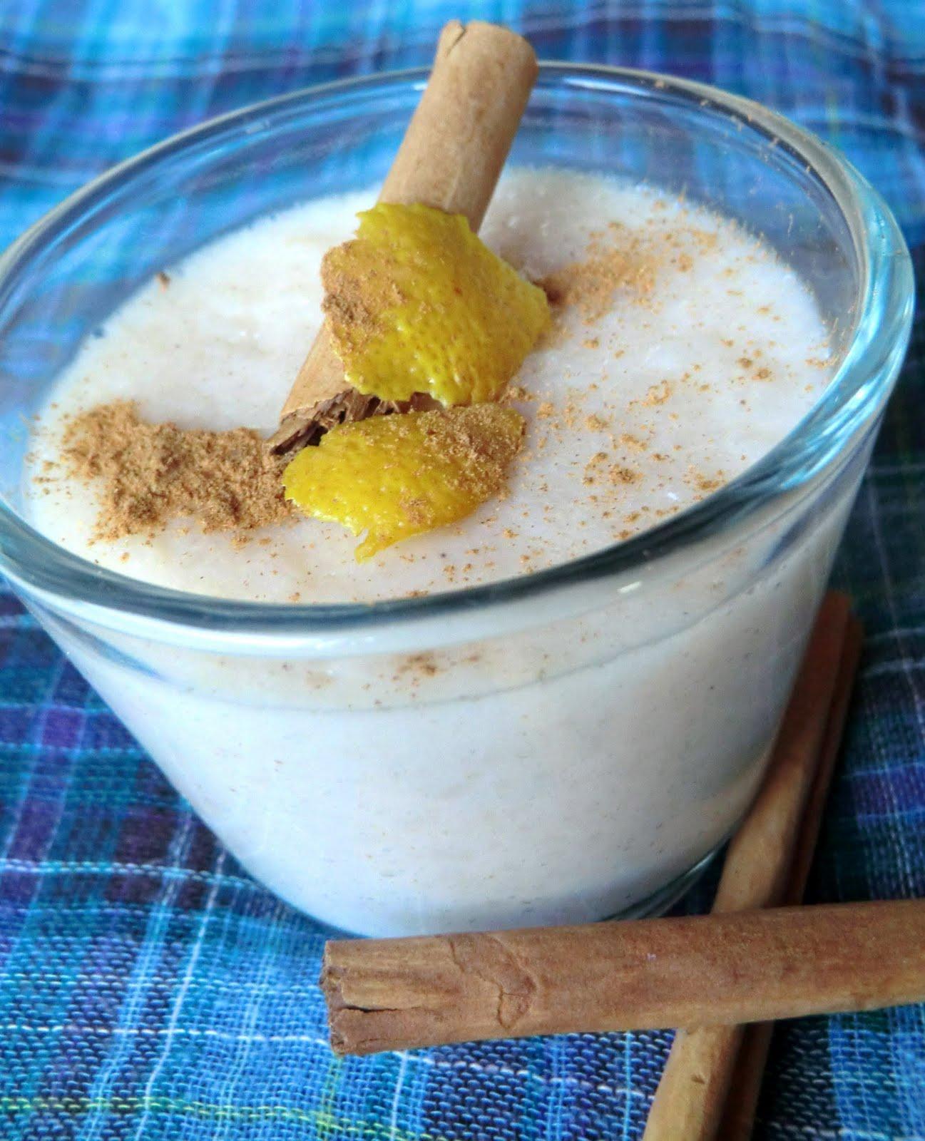 Siba-Rita: Flan de arroz con leche/ Rice pudding flan