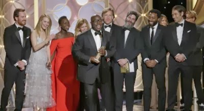 12 YEARS A SLAVE won the Golden Globe for Best Motion Picture Drama
