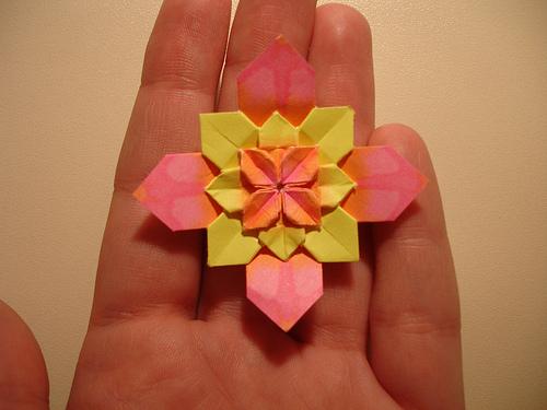 Origami Maniacs Hydrangea By Shuzo Fujimoto