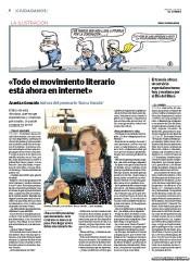 Entrevista en el diario El Correo