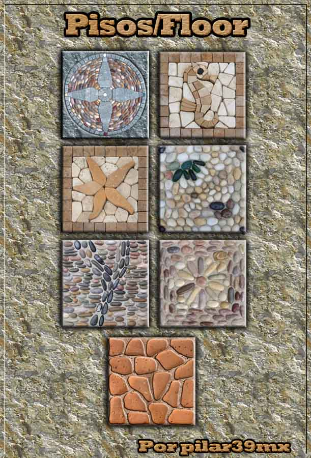 Pilar39mx paredes y pisos para exteriores for Mosaicos para pisos exteriores