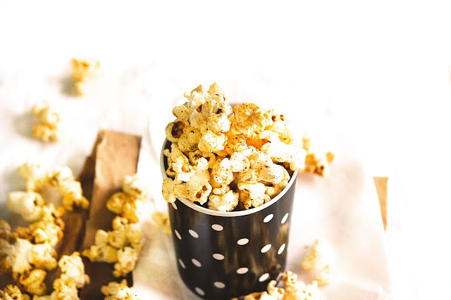 how to make masala popcorn in home