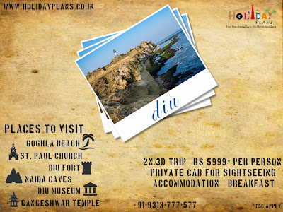customised Diu Holiday Packages