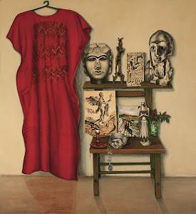 Vanitas con Némesis y piezas del Museo de Bagdad