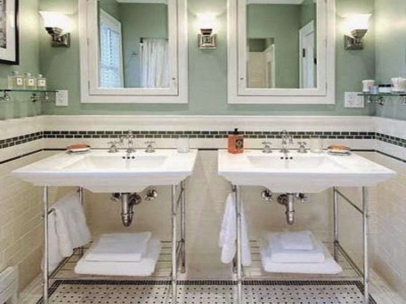 an execllent company that you could undergo to satisfy your vintage bathroom decorating ideas is rafter tales the truly amazing factor relating to this bathroom lighting ideas tips raftertales