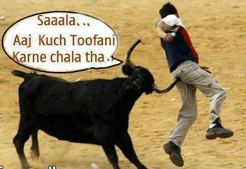 Aj kuch toofani karte h ~ funny image