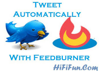Tweet with feedburner
