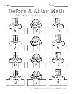 http://www.teacherspayteachers.com/Product/Christmas-Math-sequencing-missing-number-freebie-worksheet-1017781