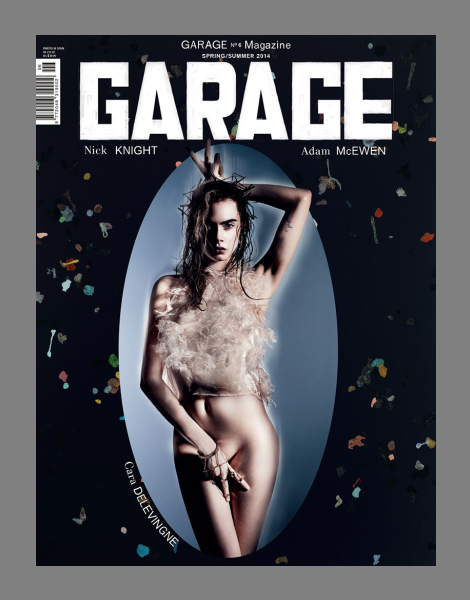 Cara Delevingne by Nick Knight for Garage Magazine No.6