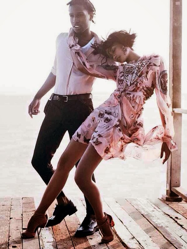 ASAP and Iman's Dance of Seduction for VOGUE + some Cara Delevingne