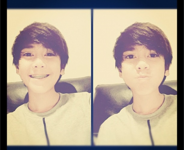 Foto - Foto terbaru Iqbal Coboy Junior