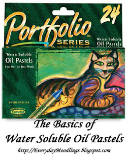 The Basics: Water Soluble Oil Pastels