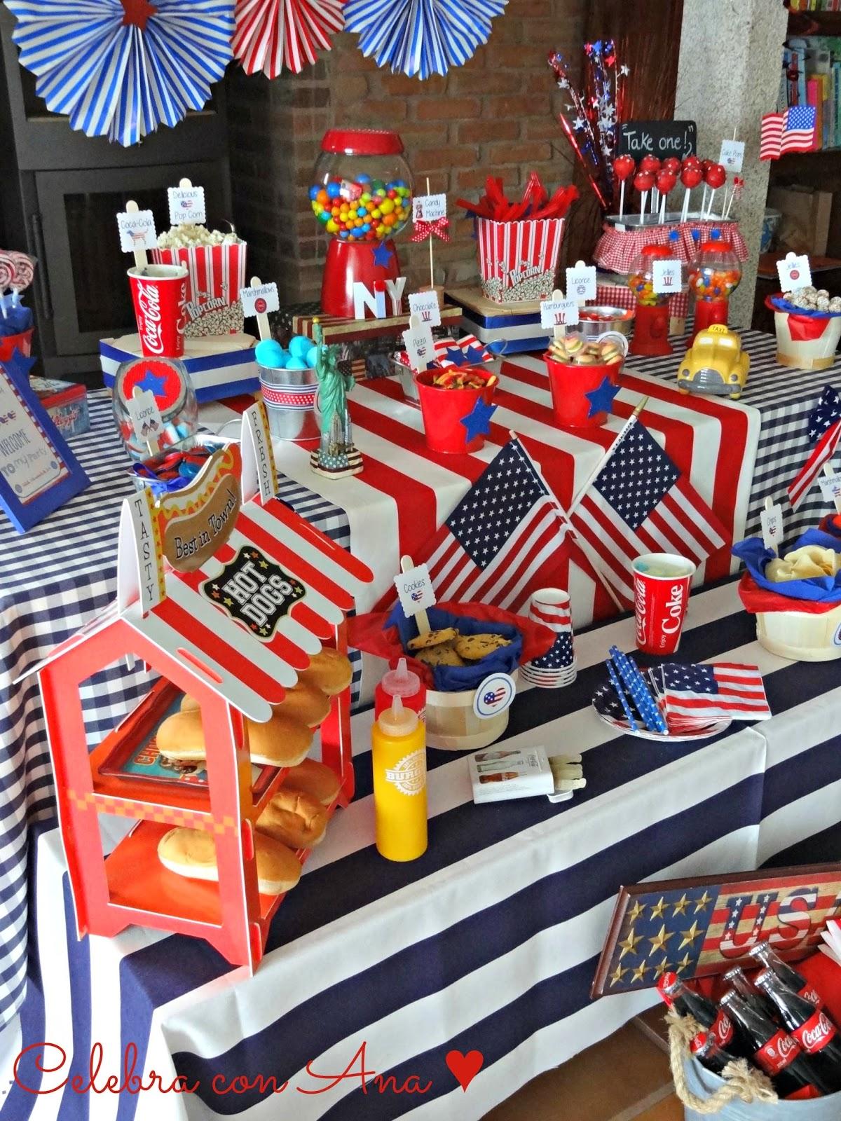Celebra con ana compartiendo experiencias creativas usa - Decoracion retro americana ...