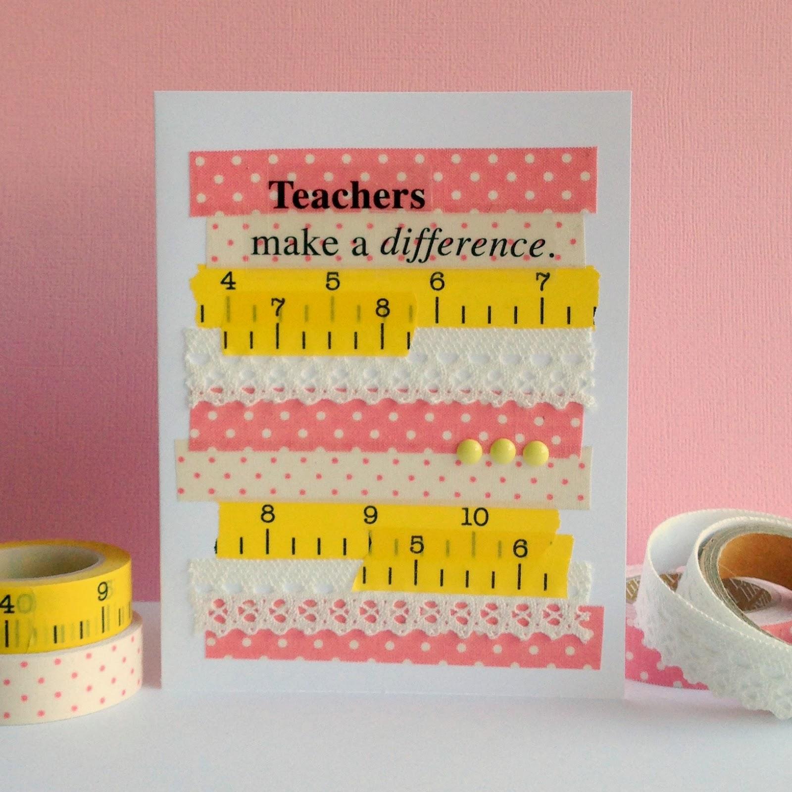 Love My Tapes Teacher Appreciation Card