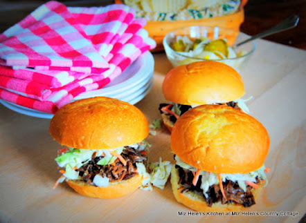 Slow Cooker Raspberry Chipotle Sliders