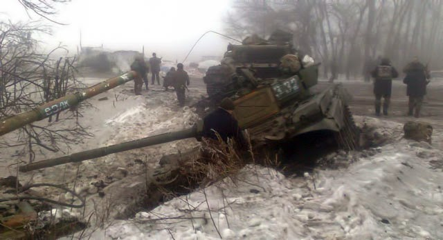 ritical situation is developing at the Debaltseve foothold