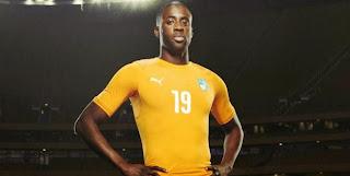 Les Ivoiriens dévoilent leur maillot