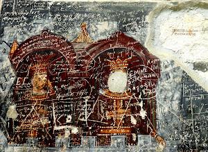 Παναγία Σουμελά-Εξωτερικές αγιογραφίες