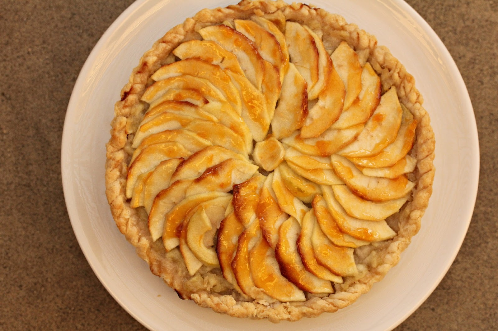 French Apple Tart | TWD | Karen's Kitchen Stories