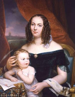 Louise Colet i la seva filla Henriette (Adèle Grasset)